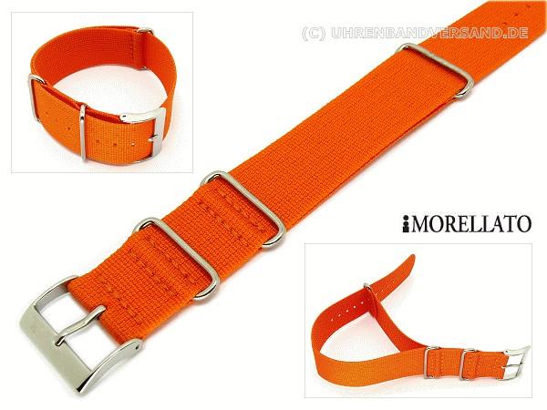Bracelets Nato KA-u2552-126-Mt-Durchzugsband-orange