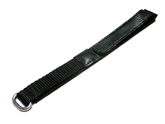 Bracelet velcro KA410Eschwarzklettsh