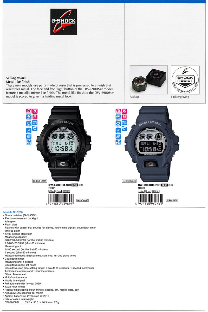 New G-shock arrived - nice 2012 model. 8649-DW6900HM
