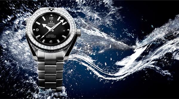 "Tudor Black Bay Blue ""So Blue"" - Envers du décor Omega-seamaster-planet-ocean-ladies-watch-3"