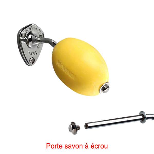 Le pere lucien - Page 3 Savon-jaune-rotatif-provendi-avec-porte-savon-vis