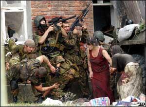 مجزرة بيسلان بقيادة تجار مخدرات Russian-terror-in-beslan