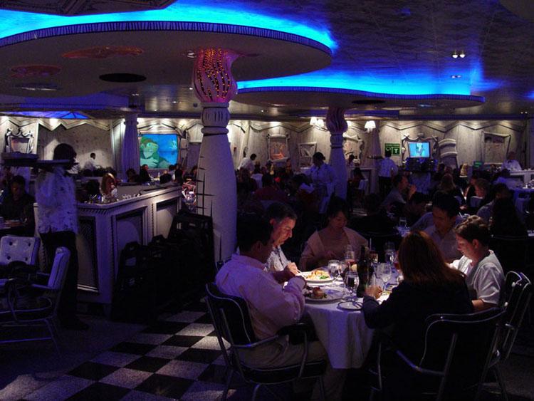Disney cruise line embarquement immédiat Dining_Animators-Palate_06