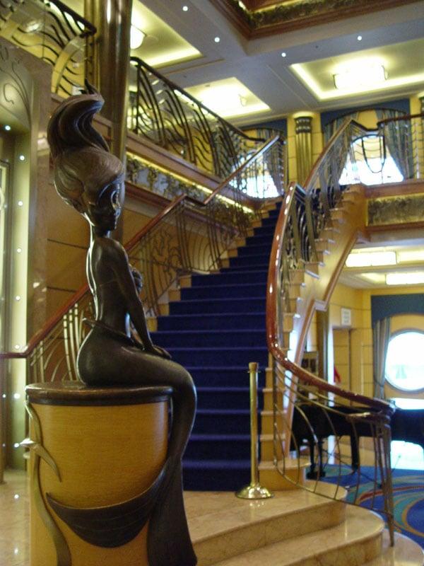 Disney cruise line embarquement immédiat G_ArielStatue_02