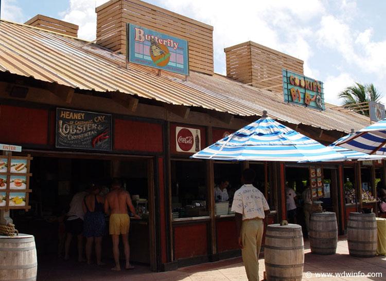 Disney cruise line embarquement immédiat Castaway_cookies-bbq