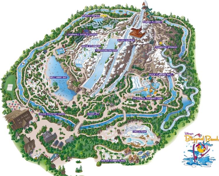 Les fifiches de Darby : Disney's Blizzard Beach Map_Blizzard_Beach