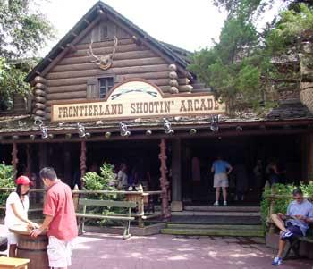 visite du Disney world magic Kingdom Fro_arcade