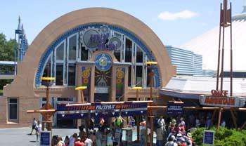 visite du Disney world magic Kingdom Tom_arcade