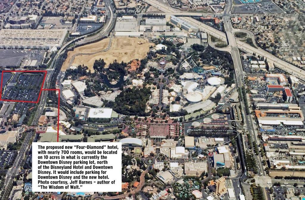Últimas novedades Disney California Aerial