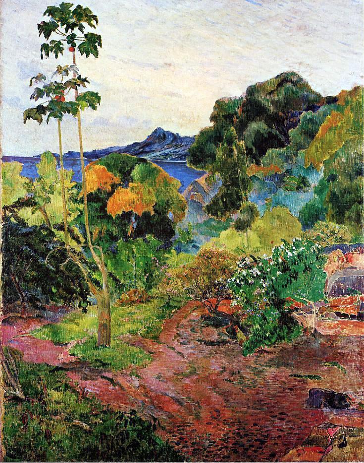 Aimez-vous la peinture impressionniste Tropical_vegetation