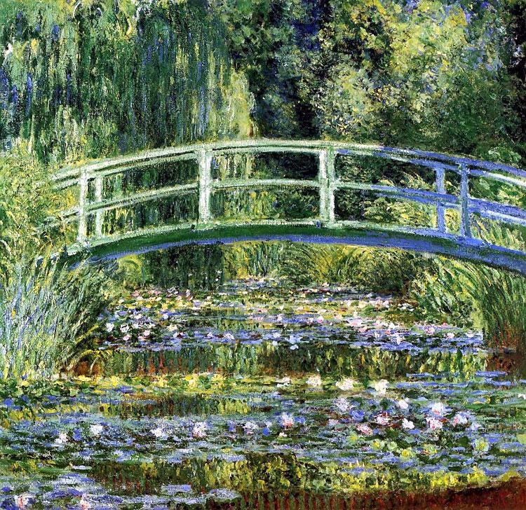 [peinture] Vos oeuvres préférées Japanese_bridge