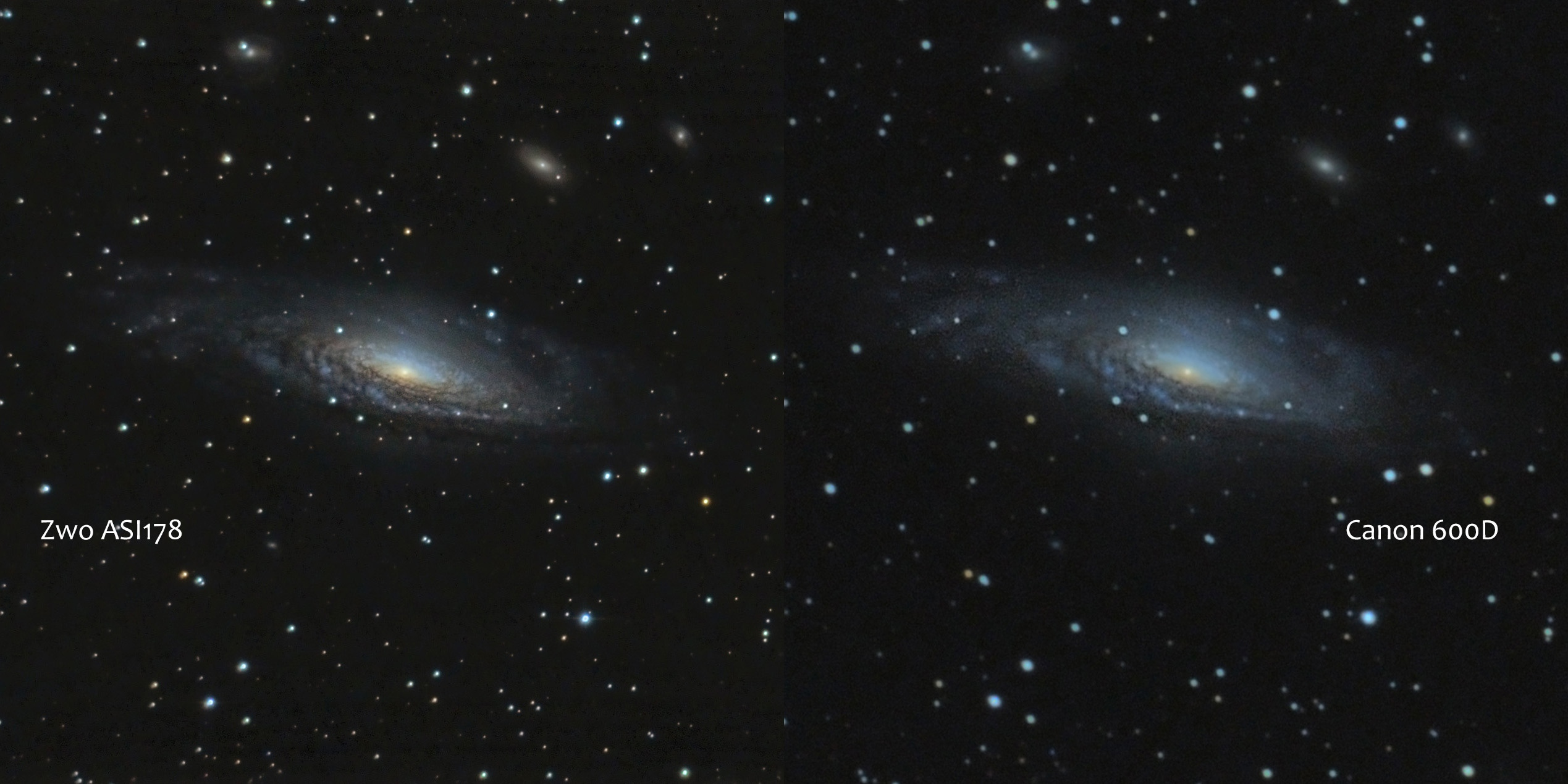 NGC 7331 : poses COURTES   25130-1472510284