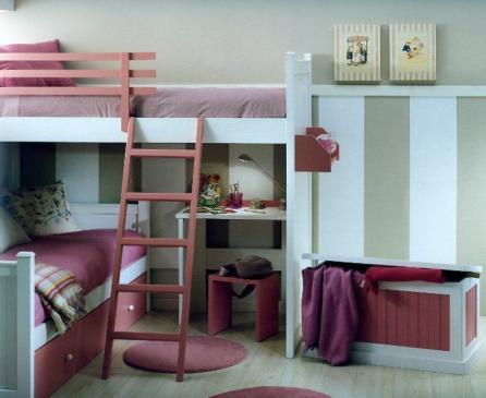 Habitacion de Anne Moor y Musette Du Pompadour Literas_10