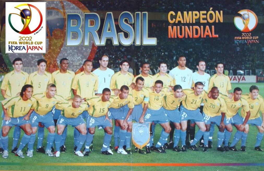 Historia de los Mundiales desde 1930 Parte V Brasil2002
