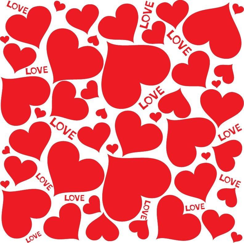 Romanticno srce - Page 9 LoveHeartsVectorBackground