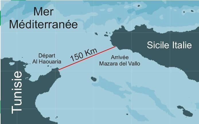 Un Tunisien parvient à relier l'Afrique et l'Europe en Laser Youssef-Akrout-3