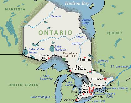 Slikoviti kaladont Ontario