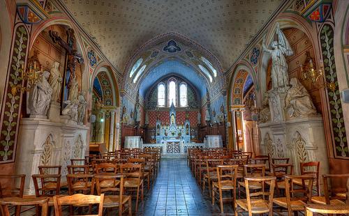 Eglise de Martine 4/09/2017 trouvée par Ajonc 20247190688-Interieur-de-l-eglise-d-Aigueze-p
