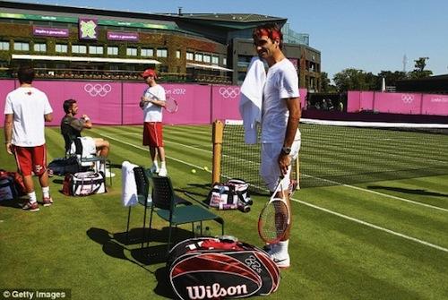 LONDRES JO 2012 : photos et vidéos - Page 3 Federer%20JO