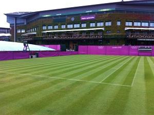 LONDRES JO 2012 : photos et vidéos Wimbledon