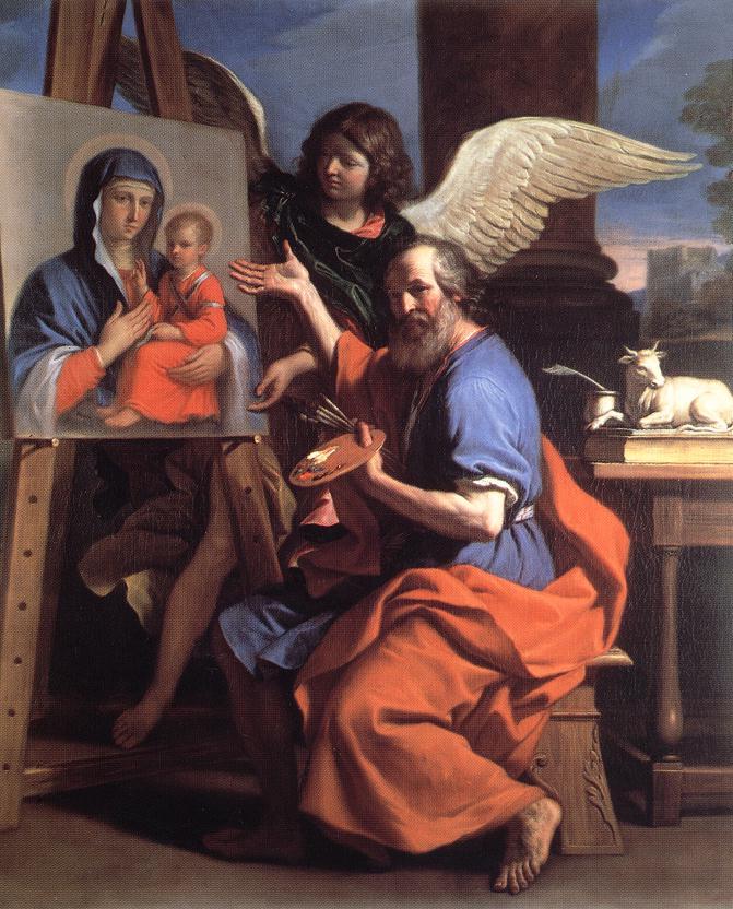 St Luc peignant la Vierge St_luke