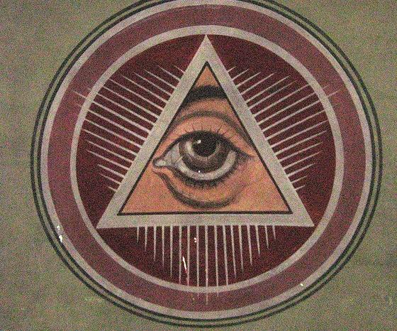 L'œil qui voit tout; tous les symboles des Illuminatis dans les médias - Page 3 Church56t432we