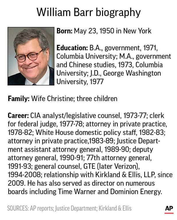 "PART 2 - CONTINUED: America Warned Is Unprepared For Q & Trump's Cataclysmic Destruction Of ""Deep State"" - Page 37 Barr2"
