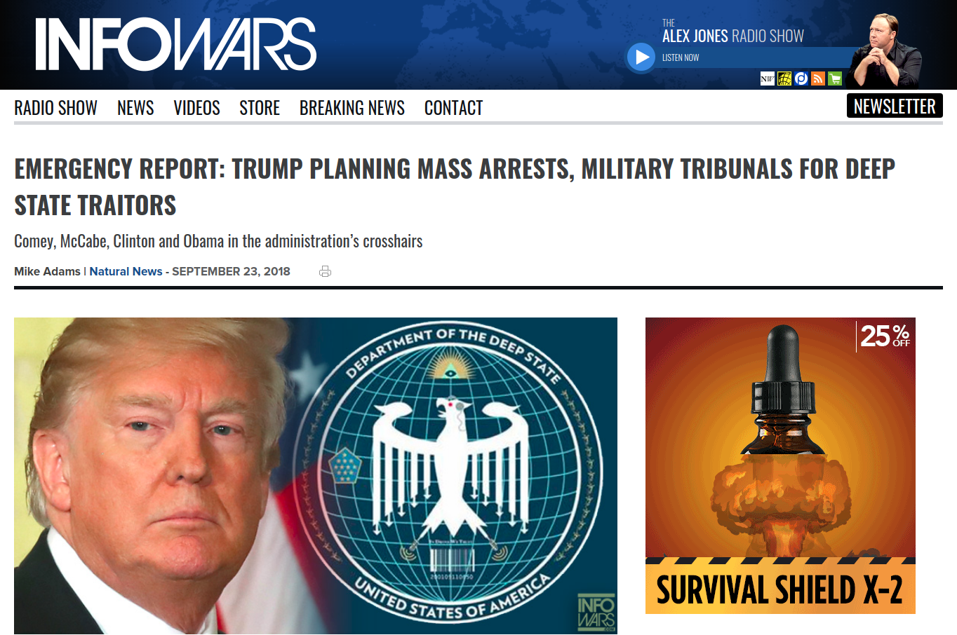 """PART 2 - CONTINUED: America Warned Is Unprepared For Q & Trump's Cataclysmic Destruction Of """"Deep State"""" - Page 22 Wank6"""