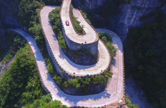 Zanimljivi putevi, staze, ceste Ferrari-tianmenshan-road