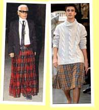 Le look et la mode masculine Lagerfeld