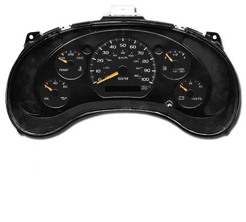 Options for restoring 75 Laguna dash gauges? Black
