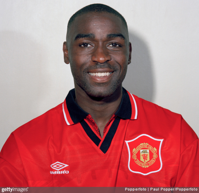 ¿Cuánto mide Andy Cole? - Real height Andy-cole-man-utd-650x632