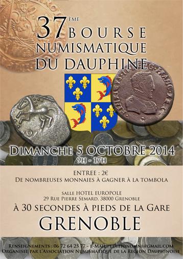 37ème bourse de numismatique du Dauphiné à Grenoble Affiche%20salon%20LIGHT