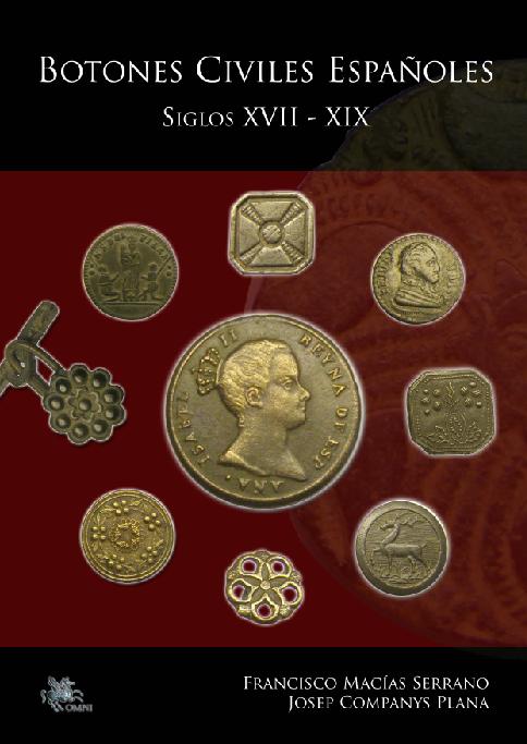 Les boutons civils  (du XVII au XIXeme) Portada