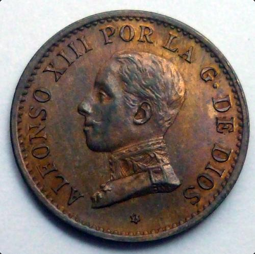 1 céntimo 1911 Alfonso XIII [WM n° 8441] 311115178