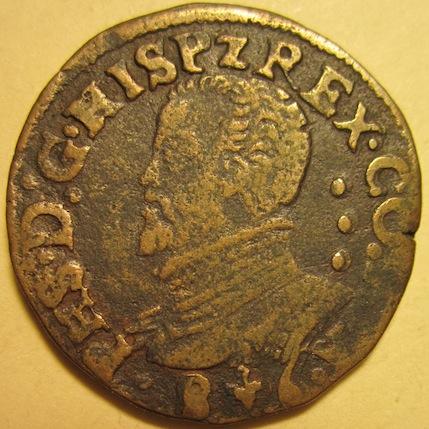 Gigot de Felipe II con 3 puntos en el campo (1586) [WM n° 7619] 331242055