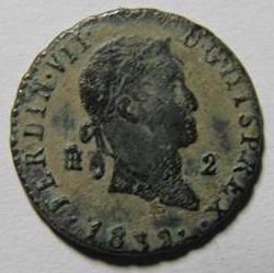 2 maravedis de Fernando VII (Segovia, 1832) [WM n° 7190] 599420974