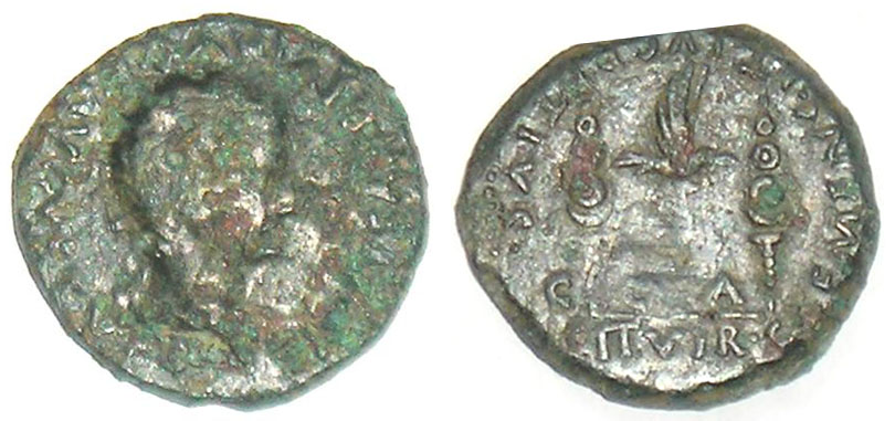 Semis de Tiberio (C.C.A. CLEMENS.ET.LVCRETIVS.II.VIR) 132570922
