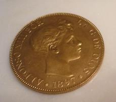 Pregunta: 100 pesetas de Alfonso XIII 14039396