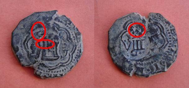 4 Mrs. de Felipe III (Cuenca, 1600-2) con resello VIII/1603 160941624