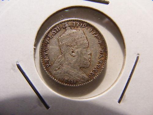 Etiopía, 1 gersh, 1891. 162481434