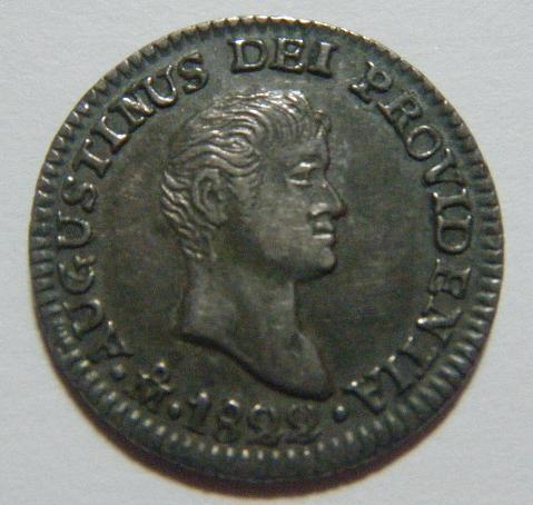 México, 1/2 Real (Iturbide), 1822 [WM n° 7428]. 16856395