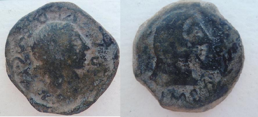 Bronce de Cartennae, periodo entrerreinos, 33-25 A.C. 244701958