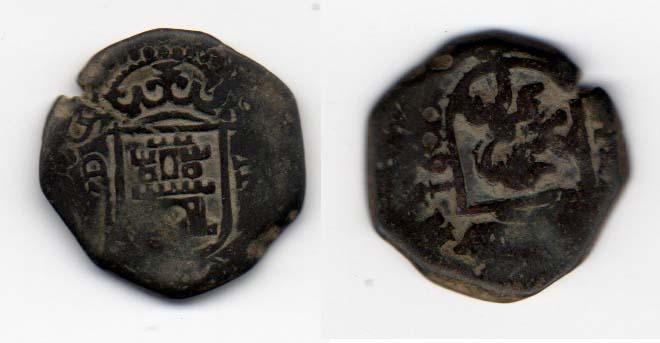 2 Maravedís de Carlos II (Valladolid, 1680) 357404455