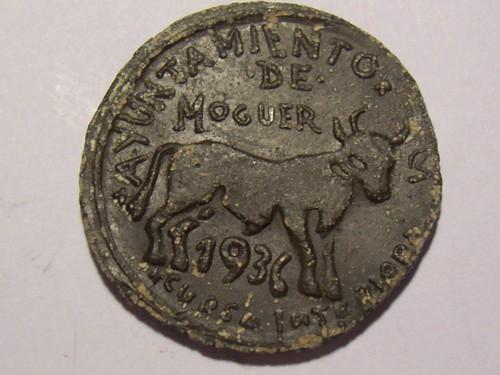 1 PESETA AYUNTAMIENTO DE MOGUER 358066197