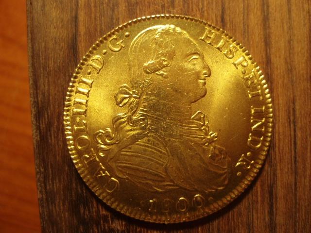 8 Escudos 1800. Carlos IIII. Méjico. Reproducción. - Página 1 363103778