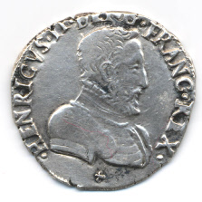 Reino de Francia, Teston, Henri II (Lyon)1556. 394263091