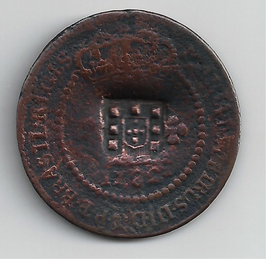 Brasil - María I y Pedro de Portugal (1777-1786) - 1782 437812809