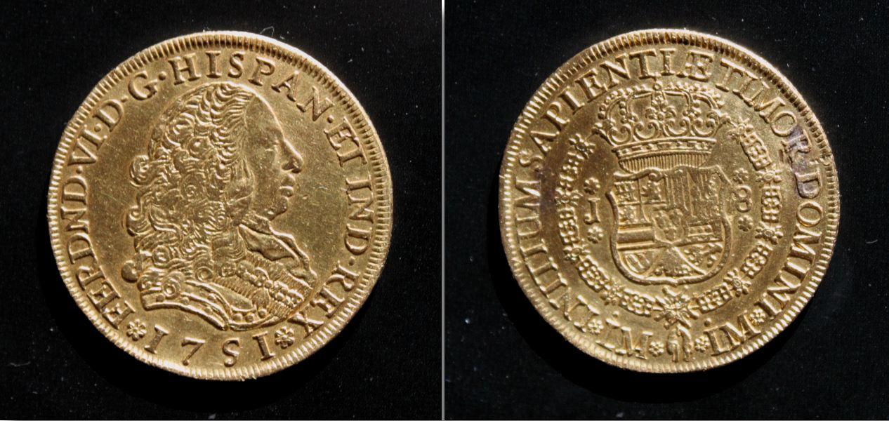 8 Escudos de Felipe V (México, 1745) 462511734