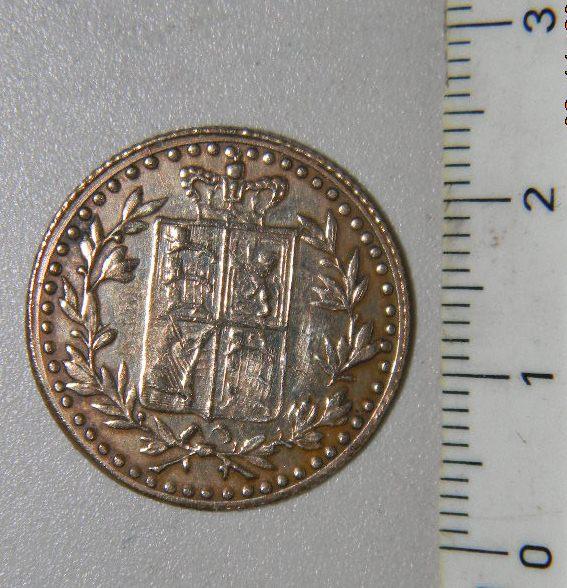 Token o Moneda conmemorativa de la Coronación del Rey Edward VII 481262251